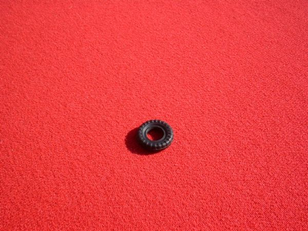 12mm Black Block Treaded for Dinky Toys  Mini's Triumph Herald Tyre (Each)